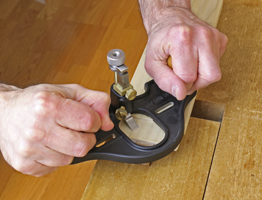 router plane in use