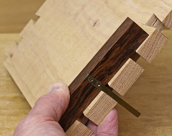 square to check dovetails