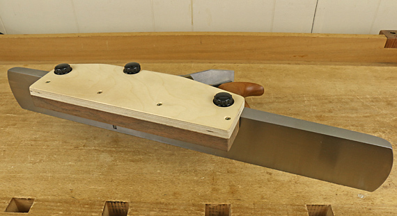 jointer plane fence