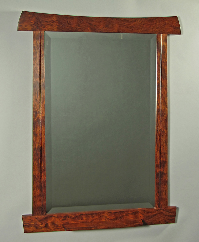 bubinga mirror