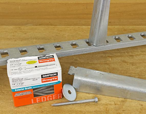 lumber rack parts