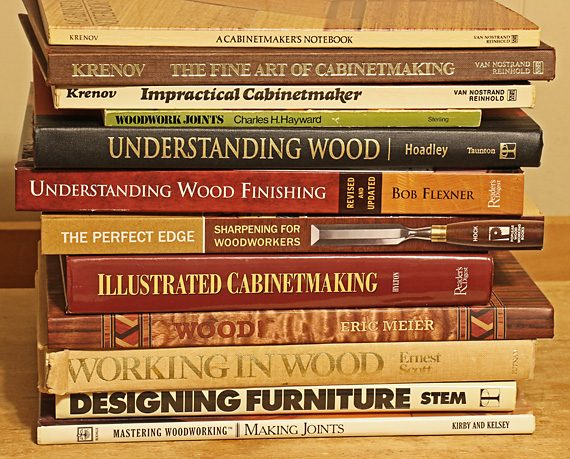 Do woodworkers still need books?