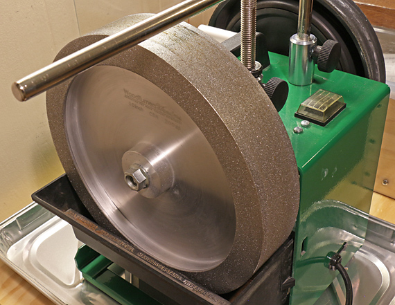 Woodturner's Wonders CBN wheel for Tormek