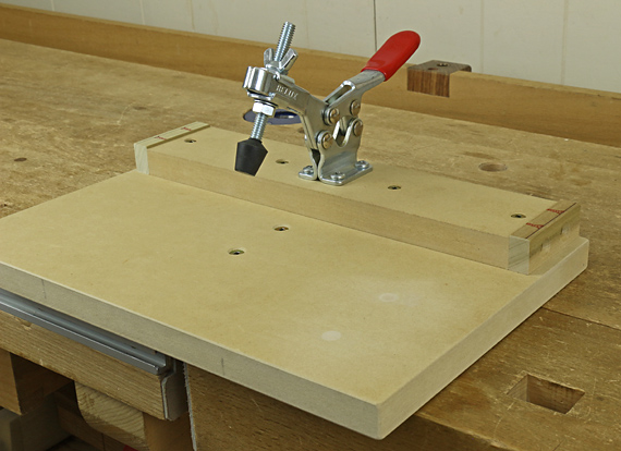 tenon shoulder trimming jig