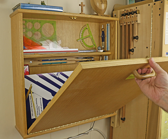 drafting cabinet
