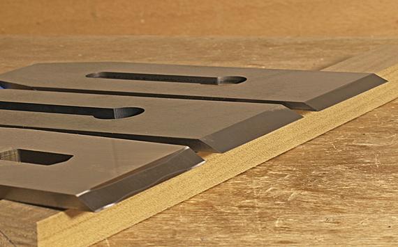 sharpening plane blades
