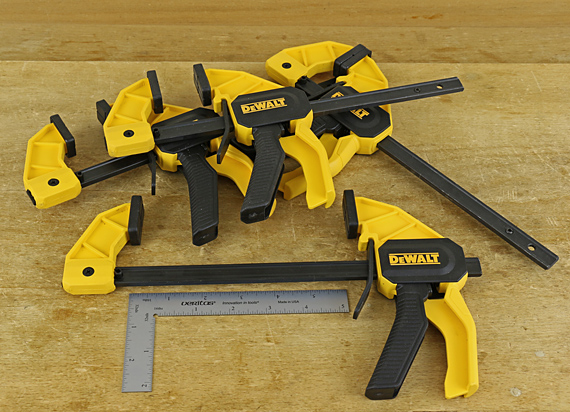 DeWalt medium trigger clamps