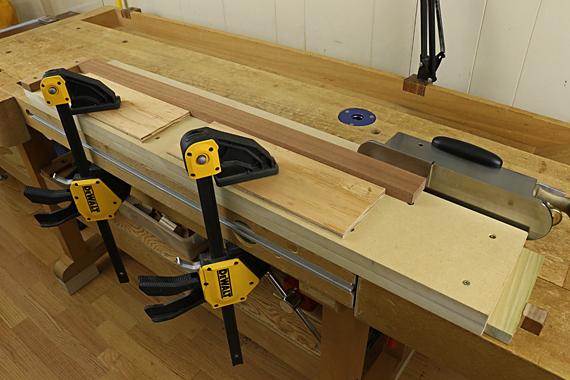 long-grain shooting board