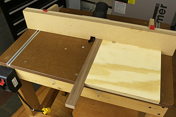 router end grain on router table