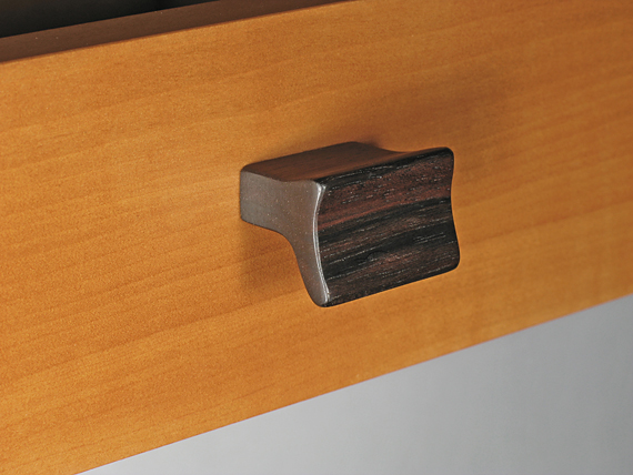 wooden drawer handle