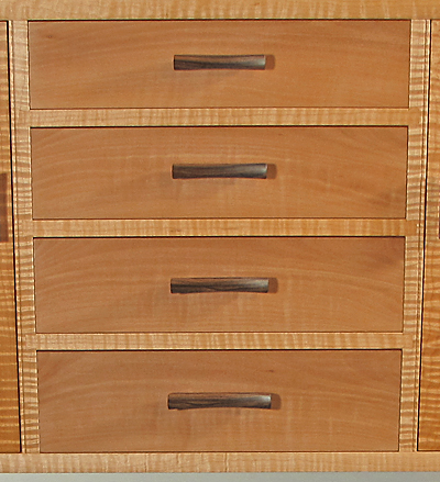 graduated drawer handles